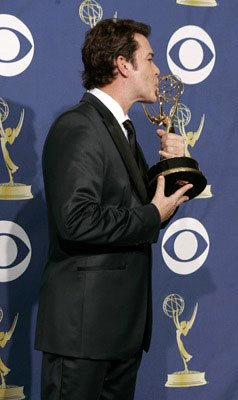 "Ray Liotta, winner - Outstanding Guest Actor in a Drama Series for ""ER"" 57th Annual Emmy Awards Press Room - 9/18/2005"