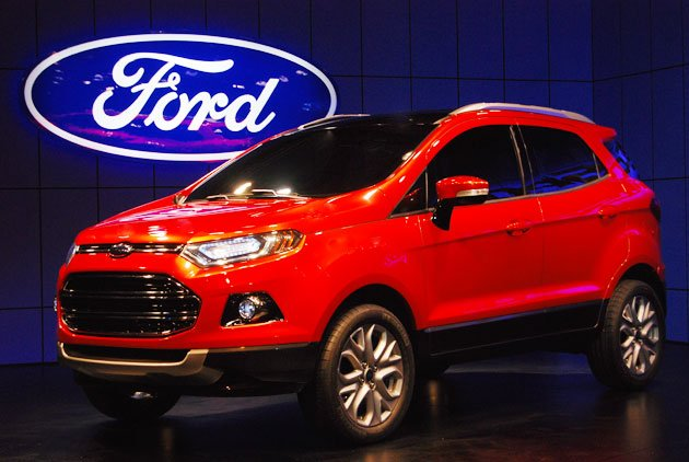 Ford EcoSport at the 2012 Delhi Auto Expo