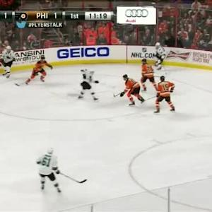 Steve Mason Save on Tomas Hertl (08:42/1st)