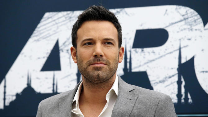 """FILE - This Oct. 19, 2012 file photo shows actor-director Ben Affleck posing for photographers during a photocall to present his movie """"Argo"""" in Rome. The film was nominated for an Academy Award for best picture on Thursday, Jan. 10, 2013.  Alan Arkin was nominated for best supporting actor and Chris Terrio for best adapted screenplay, but Affleck was not nominated for either best actor or best director for his work in the film.  (AP Photo/Gregorio Borgia, file)"""