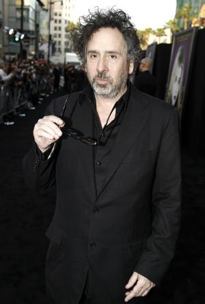 """FILE - In this May 7, 2012 file photo, director Tim Burton arrives at the premiere of  his film, """"Dark Shadows"""" in Los Angeles. The film opens in theaters on May 11.  (AP Photo/Matt Sayles, file)"""
