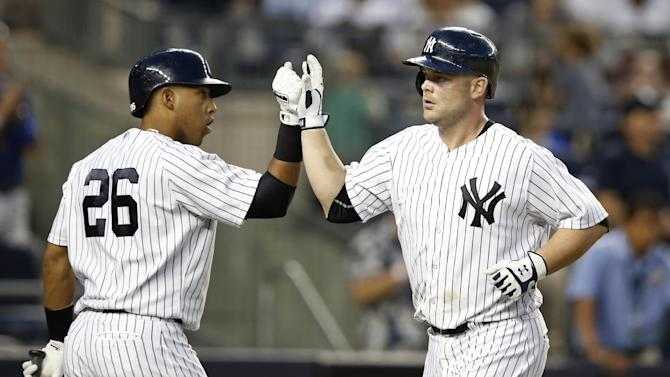 McCann, Yanks hand Jays 15th loss in row in Bronx