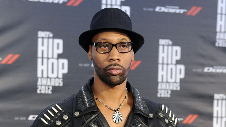 "FILE - This Sept. 29, 2012 file photo shows RZA at the BET Hip-Hop Honors in Atlanta. RZA , the 44-year-old Wu-Tang leader and producer, says he's still six weeks or so away from finishing the Clan's overdue new album ""A Better Tomorrow."" (Photo by John Amis/Invision/AP, File)"