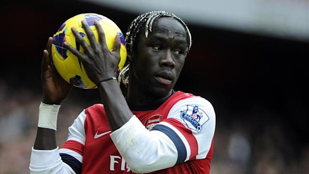 Bacary Sagna of Arsenal (AFP)