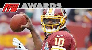 RG3 wins PFW/PFWA Rookie of the Year