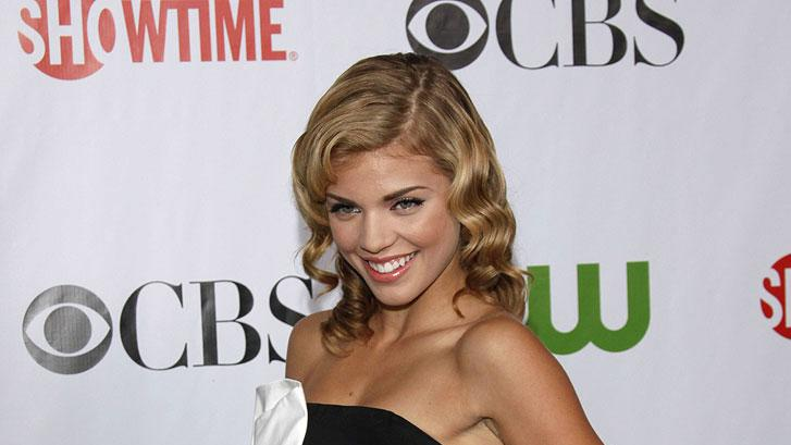 "Annalynne McCord (""90210"") arrives at the CBS, The CW, and Showtime 2009 TCA Summer Tour All-Star Party held at the Huntington Library on August 3, 2009 in Pasadena, California."