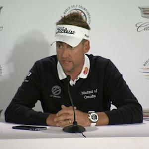 Ian Poulter comments before Cadillac Match Play