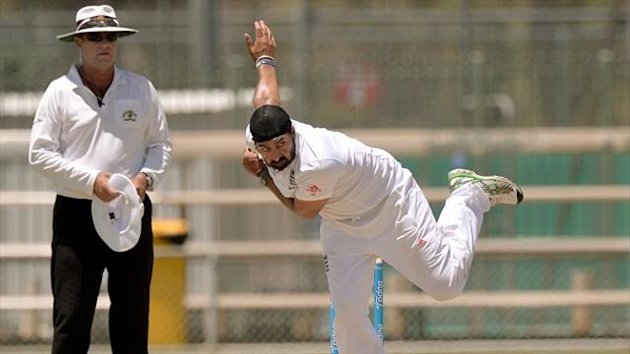 Monty Panesar came into the England side for the second Test