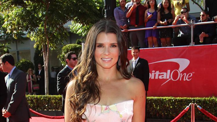 Danica Patrick 2012 ESPY Awards - Red Carpet Arrivals at the Nokia Theatre L.A. Live Los Angeles, California - 11.07.12 Mandatory Credit: FayesVision/WENN.com
