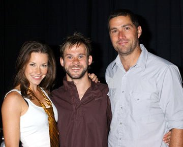 Evangeline Lilly, Dominic Monaghan and Matthew Fox 2004 San Diego Comic-Con International - 7/24/2004 Evangeline Lilly