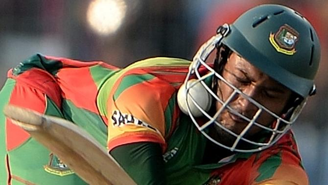 Bangladesh's Shakib Al Hasan is the world's leading all-rounder and has played in 34 Tests and 134 one-day internationals
