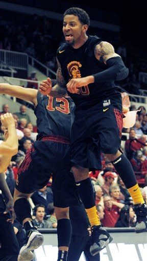Southern California holds off Stanford 65-64