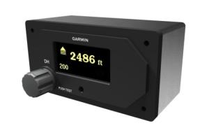 Garmin® Expands Radar Altimeter Product Line With Complete Low-Cost Solution Featuring the GRA 55 and Stand-Alone GI 205 Indicator