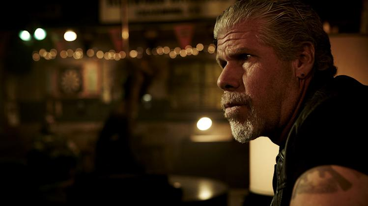 "Ron Perlman stars as Clarence ""Clay"" Morrow in ""Sons Of Anarchy."""
