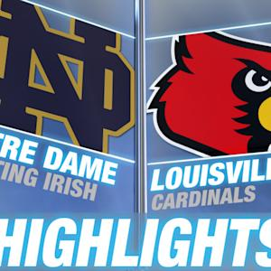 Notre Dame vs Louisville | 2014-15 ACC Men's Basketball Highlights