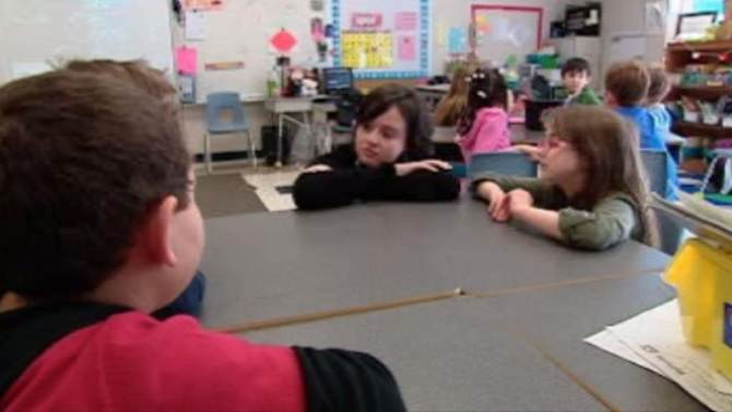 Transplant patient heads back to classroom
