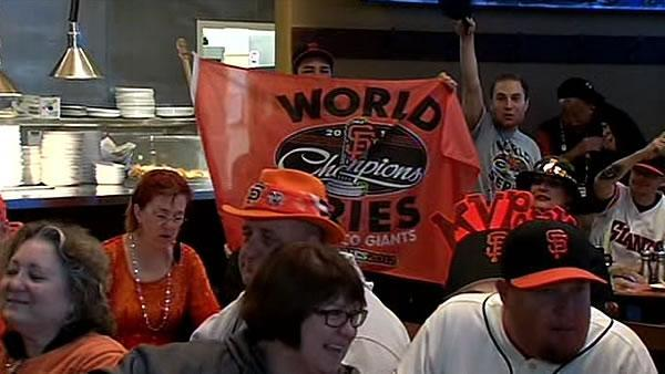 Giants fans return to AT&T Park for opener