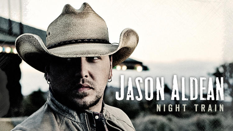 "This CD cover image released by Broken Bow records shows ""Night Train,"" the latest release by Jason Aldean. (AP Photo/Broken Bow)"