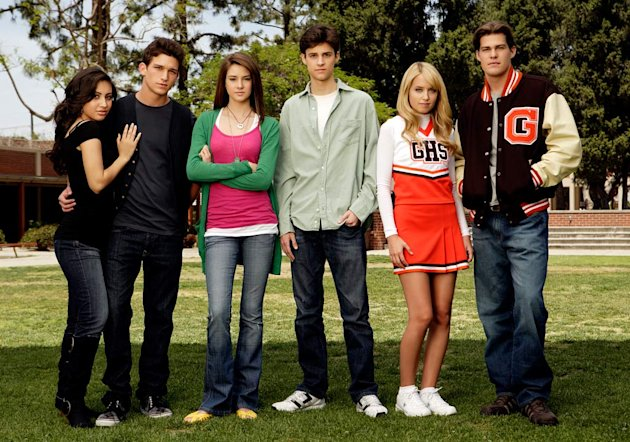 The cast of &quot;The Secret Life Of The American Teenager&quot;. 