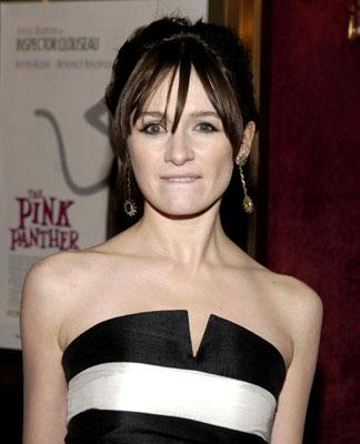 Emily Mortimer at the New York premiere of MGM/Columbia Pictures' The Pink Panther