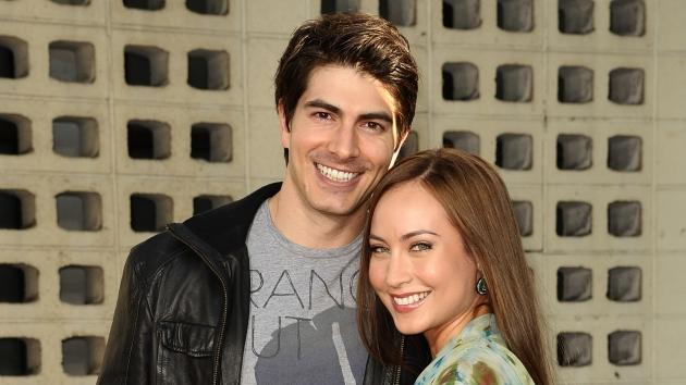 Brandon Routh and actress Courtney Ford attend the premiere of HBO's 'True Blood' at ArcLight Cinemas Cinerama Dome in Hollywood on June 21, 2011 -- Getty Premium