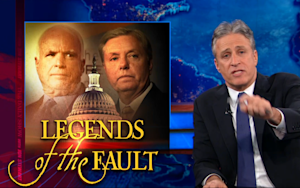The Daily Show John McCain and Lindsey Graham Don't Want You to See