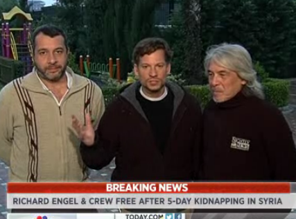 NBC's Richard Engel, Crew Freed After Kidnapping in Syria