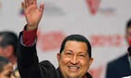 Chavez Rocks Up At Pre-Election Street Party