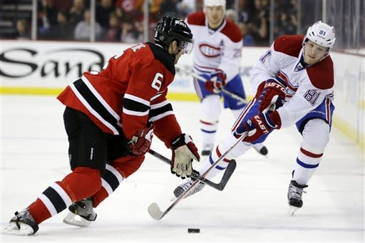 Tinordi sets up winner for Montreal in NHL debut