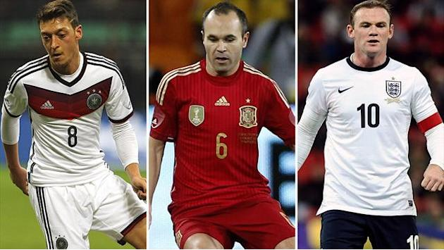 World Cup - Doubts around Germany and Spain, but England could be dark horses