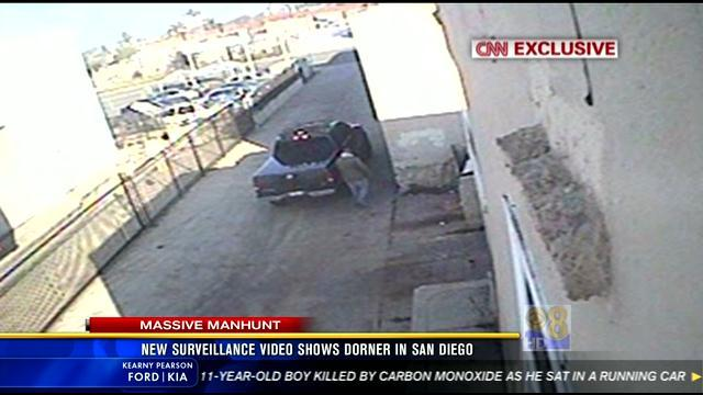 11PM UPDATE: New surveillance video shows Dorner in San Diego