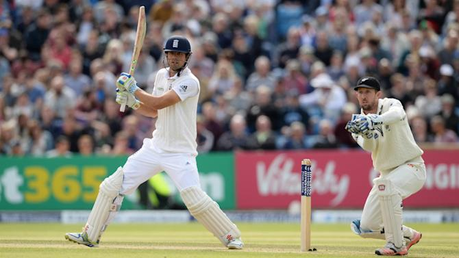 CRIC: England's Alastair Cook in action