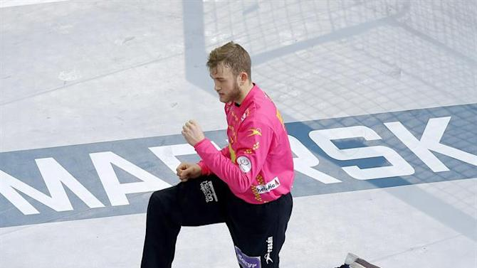 ZSN001. Lusail (Qatar), 25/01/2015.- Spain's goalkeeper Gonzalo Perez de Vargas reacts during the Qatar 2015 24th Men's Handball World Championship Round of 16 match between Spain and Tunisia at the Lusail Multipurpose Hall outside Doha, Qatar, 25 January 2015. Qatar 2015 via epa/Robert Ghement Editorial Use Only/No Commercial Sales