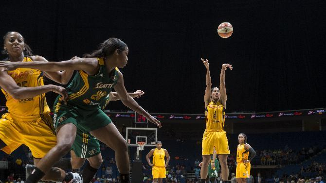 Diggins leads Shock to fourth straight win