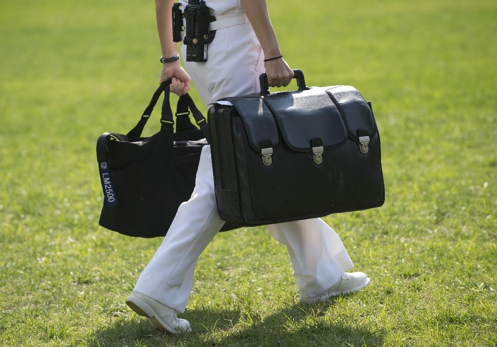 Trump to take charge of nuclear 'football'