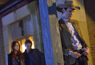 Karen Gillan, Arthur Darvill and Matt Smith | Photo Credits: BBC America