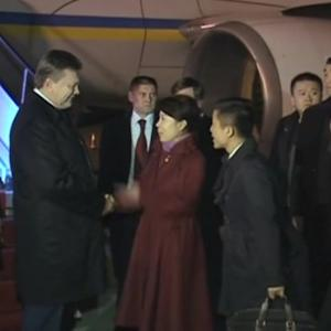 Yanukovich visits China as rage boils in Ukraine
