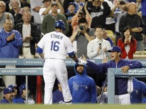 Kershaw, Ethier lead Dodgers over D-backs 3-1