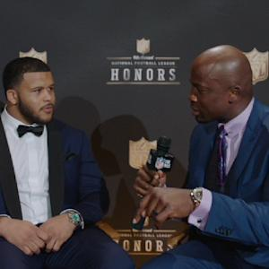 'NFL Honors': St. Louis Rams defensive tackle Aaron Donald on winning Defensive Rookie of the Year