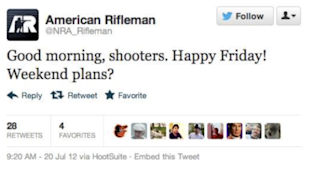 Don't Commit Social Media Suicide image NRA Rifleman Tweet
