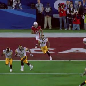 James Harrison Interception Return Touchdown Run