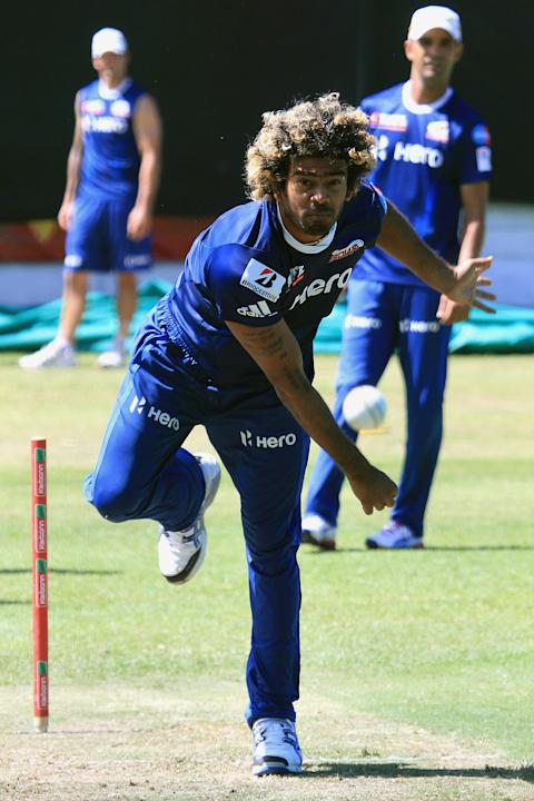 CLT20 2012 Champions League Twenty20 - Mumbai Indians training