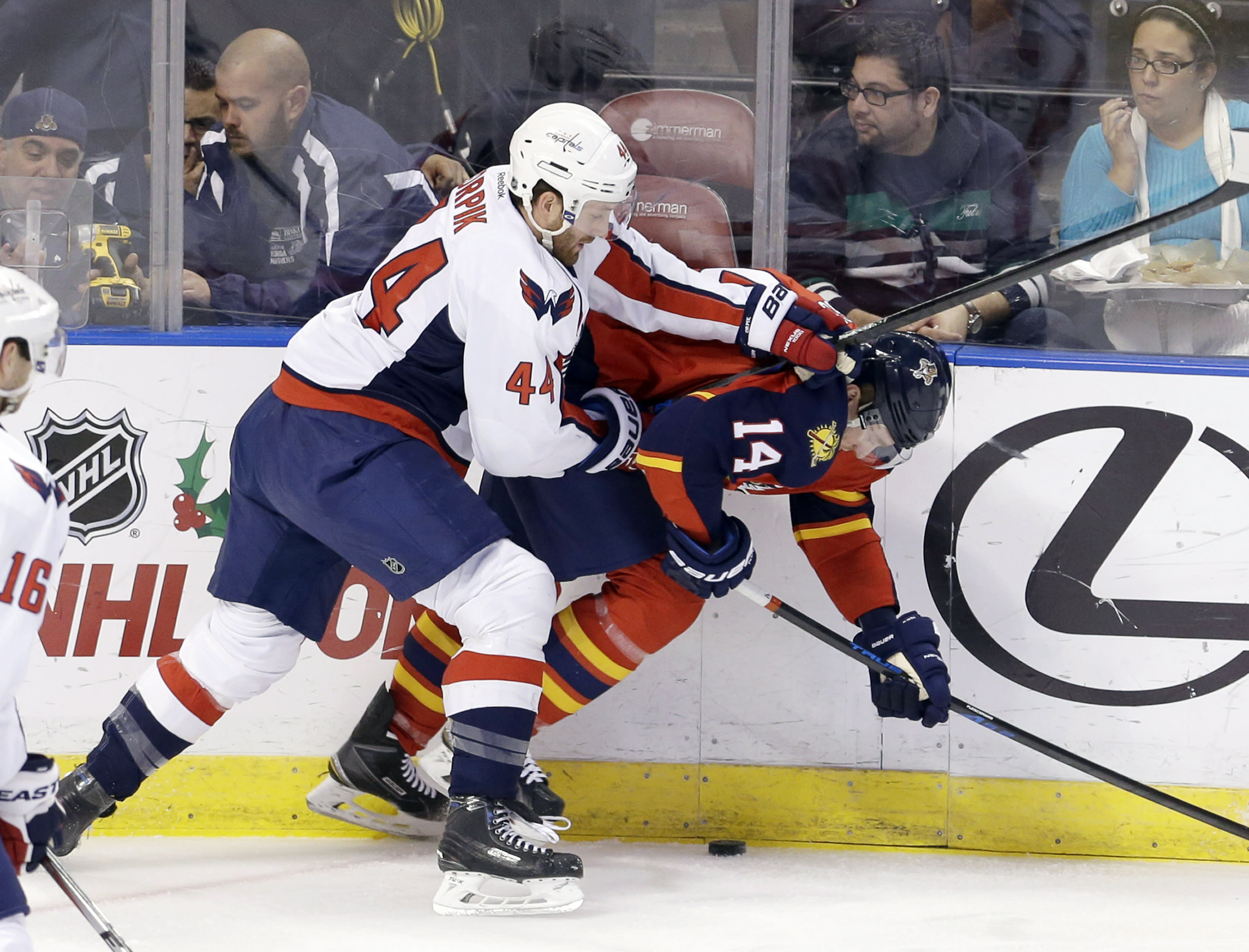 Panthers outlast Capitals in longest NHL shootout