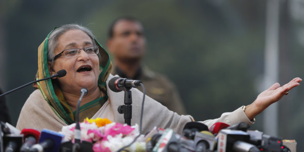 Bangladesh leaders vie for power after marred vote