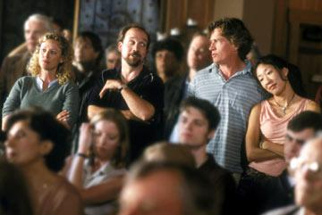 Virginia Madsen , Paul Giamatti , Thomas Haden Church and Sandra Oh in Fox Searchlight's Sideways