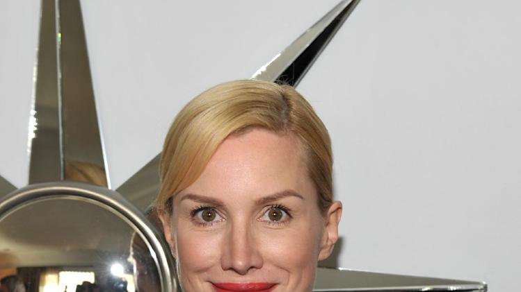 Alice Evans is seen at the The Hollywood Reporter's Beauty Luncheon held at the Chateau Marmont on Wednesday Nov. 14, 2012 in Los Angeles. (Photo by John Shearer/Invision for THR/AP Images)