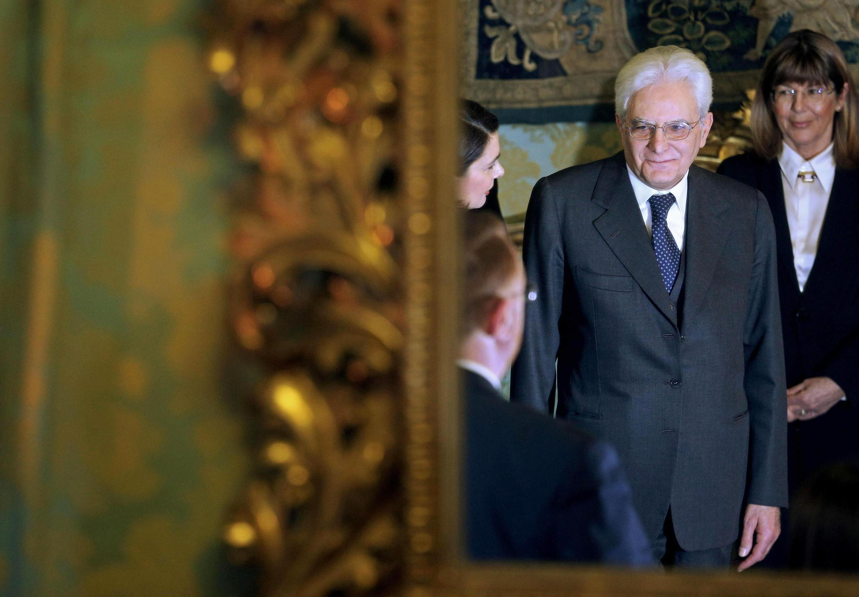 Italy's lawmakers elect Sergio Mattarella as president