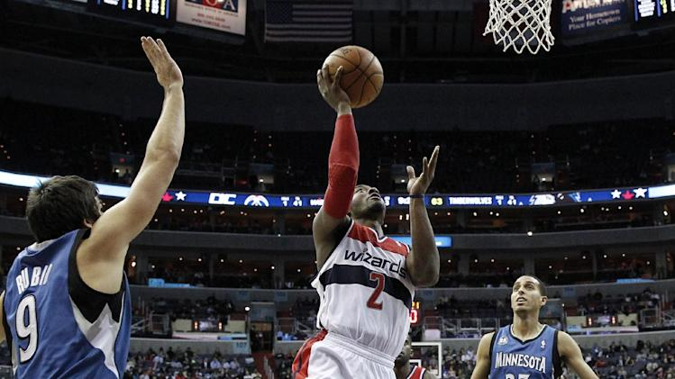 Love, Martin held down in Wizards' win