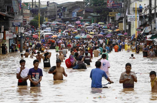 flood in philippines