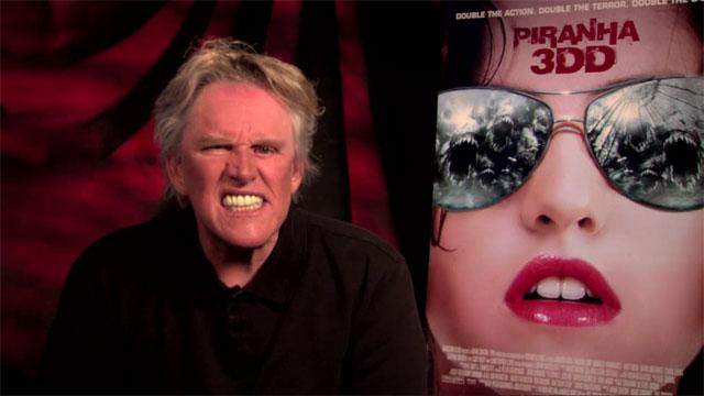 'Piranha 3DD' On Set: Gary Busey